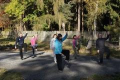 Ranní cvičení